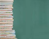 Schulebücher der Kinder Stockfotografie