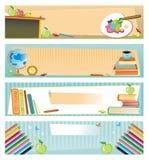 Schulefahnen Lizenzfreie Stockbilder