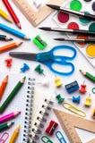 Schulefelder Lizenzfreie Stockfotos