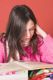 Schuleheimarbeit Lizenzfreie Stockfotos