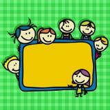 Schulehintergrund Lizenzfreies Stockfoto