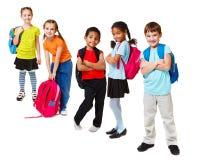 Schulekinder Stockbilder