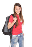 Schulemädchen Lizenzfreies Stockbild