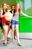 Schulen Sie Mädchen Lizenzfreies Stockbild