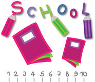 Schulenachrichten Lizenzfreie Stockfotos