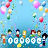 Schuleparty Lizenzfreies Stockfoto