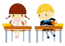 Schuleprüfung Stockfoto