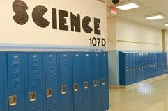 Schuleschließfächer Stockbilder