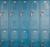 Schuleschließfächer Lizenzfreies Stockbild