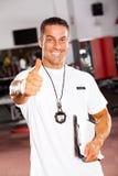 Schulesporttrainer Lizenzfreies Stockfoto
