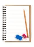 Schulezubehör Lizenzfreie Stockfotos