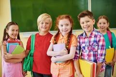 Schulfreunde Lizenzfreie Stockfotos