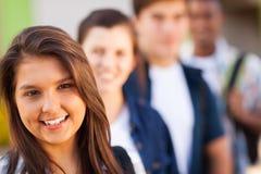Schulfreundinnen Lizenzfreies Stockbild