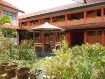 Schulgarten Stockfoto