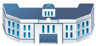 Schulgebäude Lizenzfreie Stockfotografie