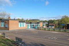 Schulgebäude, Großbritannien - Säuglings-/Junior-5-11years Lizenzfreies Stockfoto