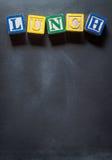 Schulmahlzeitprogramm Lizenzfreie Stockfotos