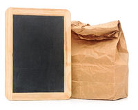 Schulmahlzeittasche Stockfoto