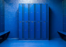 Schulschließfächer, zum von Einzelteilen zu speichern lizenzfreie stockbilder