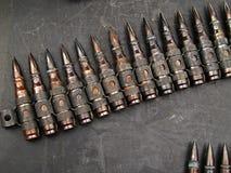 Schulterriemen von Kugeln Stockbilder