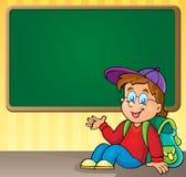Schulthematisches Bild 3 Stockbild