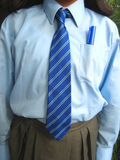 Schuluniform Stockfoto