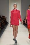 Schurk - de Modeshow van New York Royalty-vrije Stock Afbeeldingen