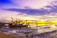 Schusses gebildet von der Phi-Phi Insel am Ende Februar Lizenzfreies Stockbild