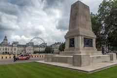 Schutz-Abteilungs-Denkmal in St- James` s Park, London, England, Großbritannien Lizenzfreie Stockfotos
