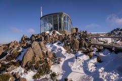Schutz auf Mt Wellington, Tasmanien, Australien stockbilder