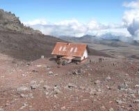 Schutz in Chimborazo-Naturschutzpark - Ecuador Lizenzfreies Stockbild