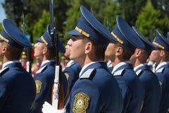 Schutz der Ehre in Baku stockbilder