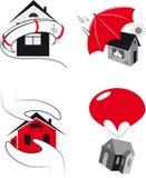Schutz der Immobilien Lizenzfreie Stockfotografie