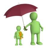 Schutz der Kindheit Lizenzfreies Stockfoto
