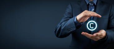 Schutz des geistigen Eigentums Stockfoto