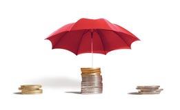 Schutz des Kapitals Stockfoto
