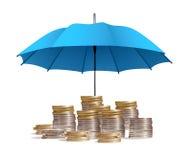 Schutz des Kapitals Stockbild