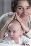 Schutz des Mutter Stockfotos