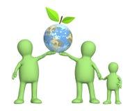Schutz einer Umgebung lizenzfreie abbildung