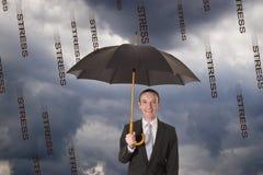 Schutz gegen Druck Lizenzfreie Stockfotos