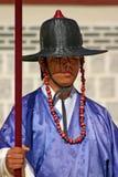 Schutz an Gyeongbok-Palast Seoul, Südkorea Lizenzfreie Stockbilder