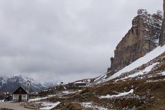 Schutz und Kapelle Auronzo Lizenzfreies Stockbild