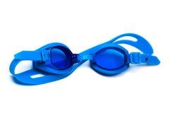 Schutzbrillen für Schwimmen stockfotos