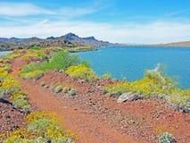 Schutzgebiet - Halbinsel-Weg Stockfoto