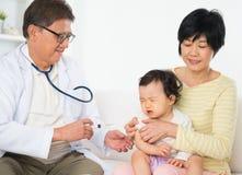 schutzimpfung lizenzfreie stockfotografie