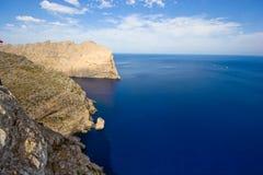 Schutzkappe auf Majorca lizenzfreie stockfotos