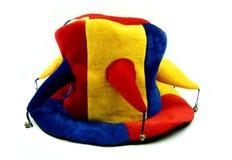 Schutzkappe des Clowns Lizenzfreies Stockbild