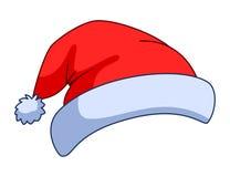 Schutzkappe des Weihnachtsmanns Lizenzfreies Stockbild