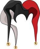 Schutzkappe einer Spassvogels. Karikatur Stockbilder