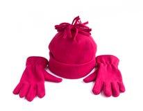Schutzkappe und Handschuhe stockfotografie